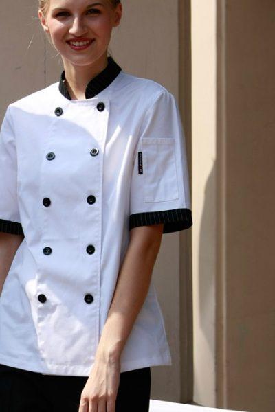 áo bếp may theo yêu cầu 08