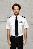 áo bảo vệ màu trắng tay ngắn