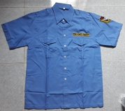 Áo bảo vệ vải ford màu xanh hinh1