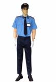 Bộ bảo vệ xanh áo vải ford quần cashmere