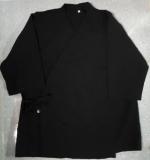 Áo bếp đen kate ford mền mát có sẵn