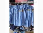 Áo bảo vệ tay dài màu xanh