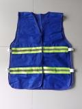 Áo lưới mềm phản quang màu xanh bích